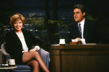 Jay Leno interview Sheryl Lee about Twin Peaks and Wild at Heart