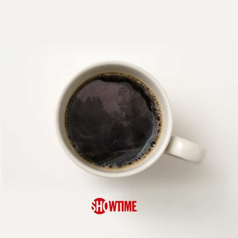 Showtime coffee cup Twin Peaks