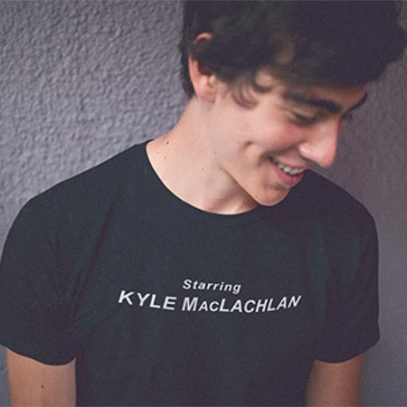 Starring Kyle MacLachlan t-shirt