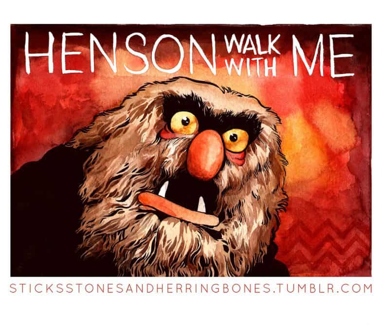 Sweetums as MIKE: Henson Walk with Me