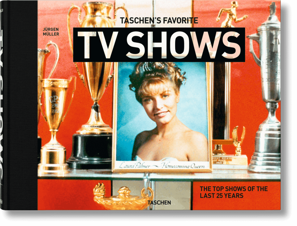 TASCHEN's Favorite TV Shows: Twin Peaks on the cover