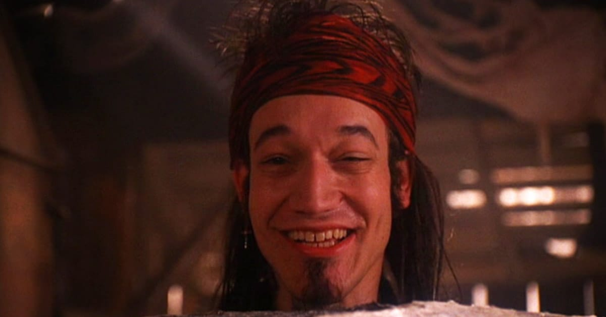 Ted Raimi as Rusty Tomaski (aka Heavy Metal Youth) in Twin Peaks