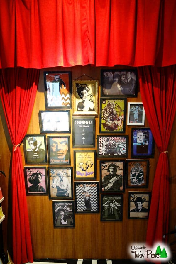 Terror Factory Black Lodge Twin Peaks Exhibit