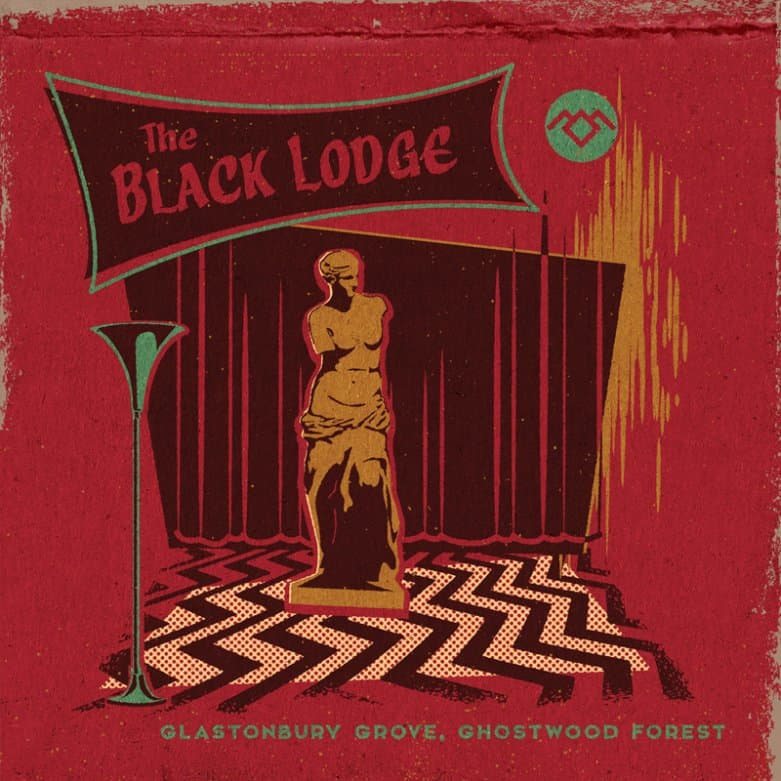 The Black Lodge matchbook