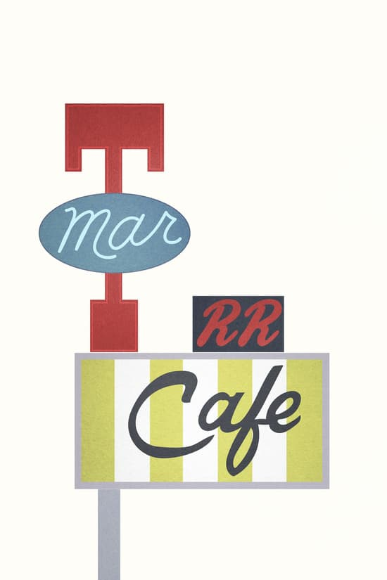 RR Diner sign