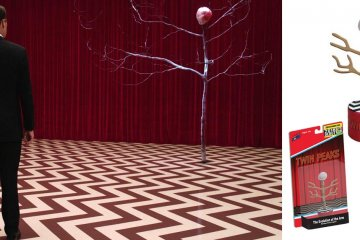 The Evolution of the Arm - Twin Peaks Push Puppet Toy