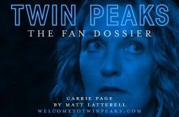 Twin Peaks: The Fan Dossier - Carrie Page
