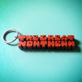 The Great Northern Hotel keychain