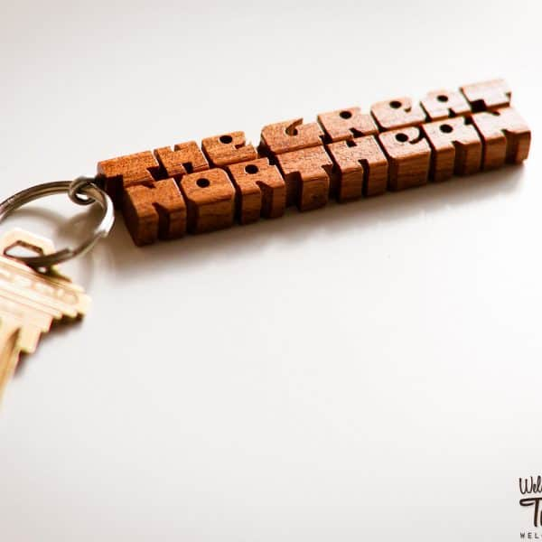 The Great Northern Hotel Twin Peaks Keychain