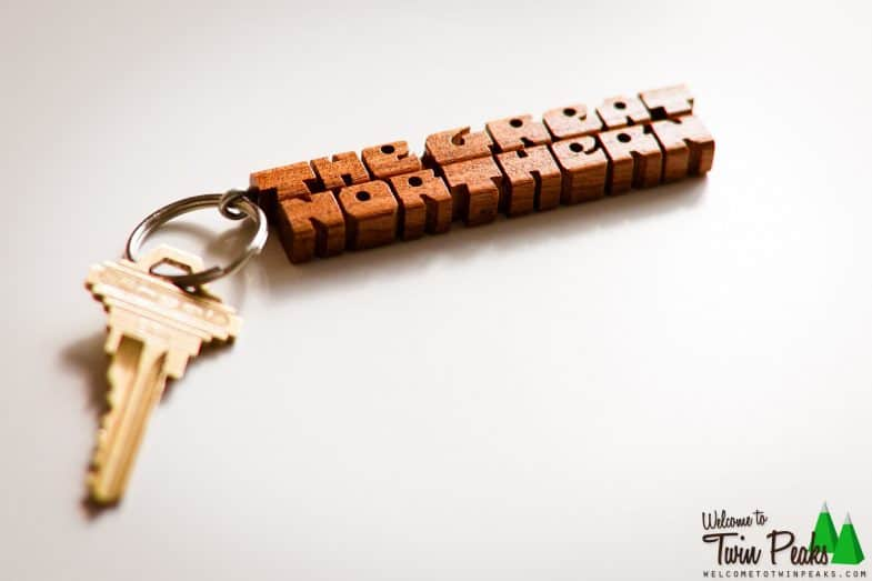The Great Northern Hotel Twin Peaks Keychain available at http://welcometotwinpeaks.com