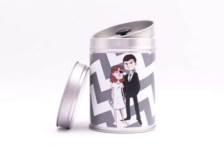 Twin Peaks Gift Box/Tin by Boxartig: Ed and Nadine Hurley