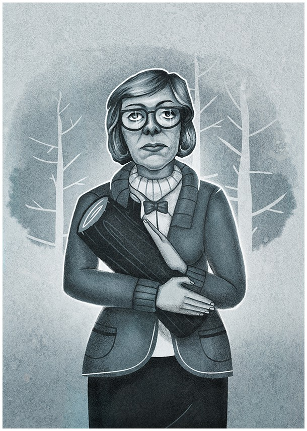 Twin Peaks Tribute by Muti: The Log Lady
