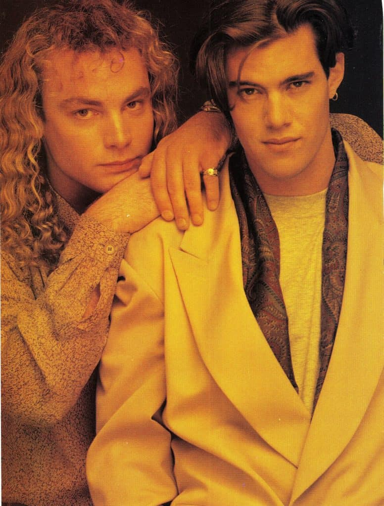 Eric Da Re and Dana Ashbrook