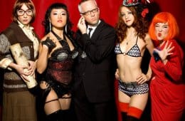 The cast of The Pink Room Burlesque