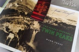 The Secret History of Twin Peaks Showtime coffee cup sleeve