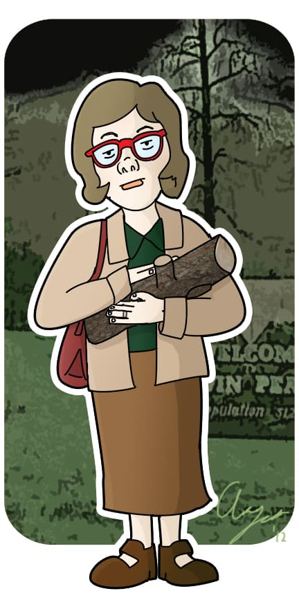 The Log Lady by neoalxtopi