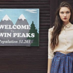 Spanish Fashion Label Designs Twin Peaks Clothing For The Audrey Hornes And Laura Palmers Of Today