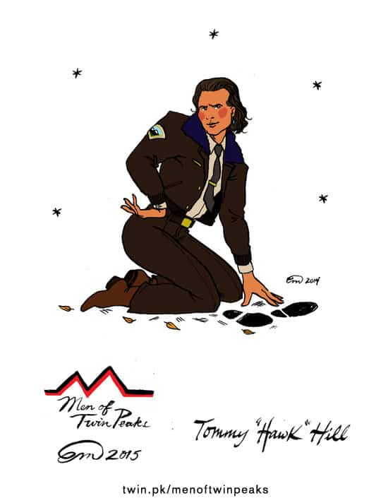 Tommy Hawk Hill pin-up