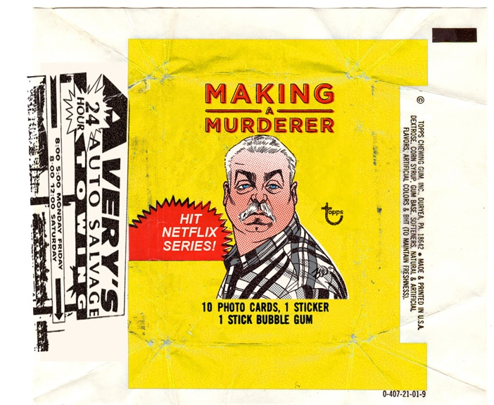 Making a Murderer collectible cards