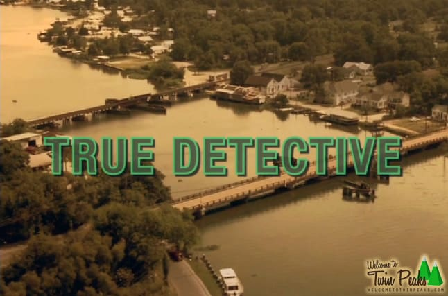 True Detective X Twin Peaks opening titles