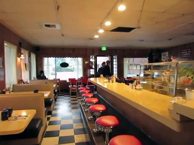 Inside the new Twin Peaks RR Diner / the remodeled Twede's Cafe