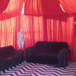 The Entrance To The Black Lodge Was At Burning Man This Year (Video)