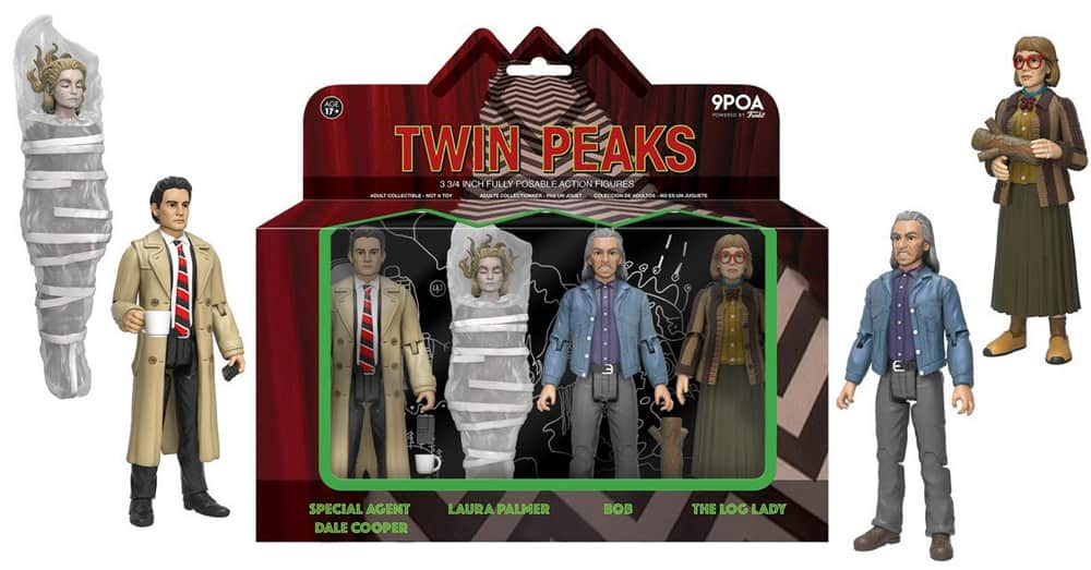 Twin Peaks Action Figures by Funko - 4-pack box set