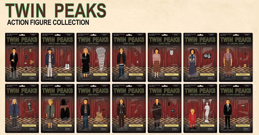 42 Twin Peaks Action Figures With All The Right Accessories