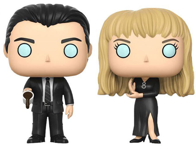 Twin Peaks Black Lodge Laura & Cooper Funko Pop!