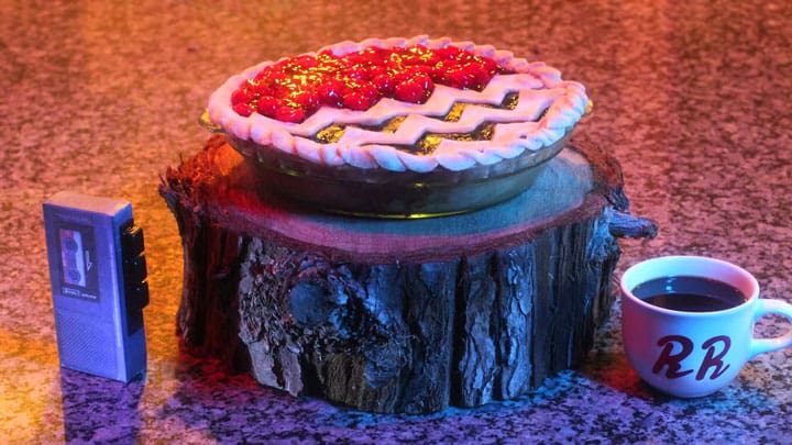 Twin Peaks Black Lodge pie