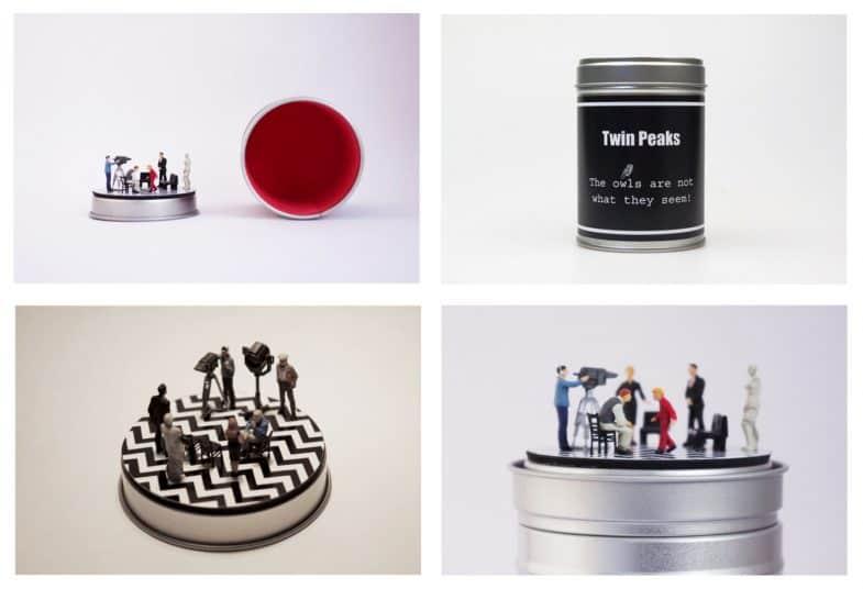 Twin Peaks miniature/diorama by Boxartig: The Black Lodge