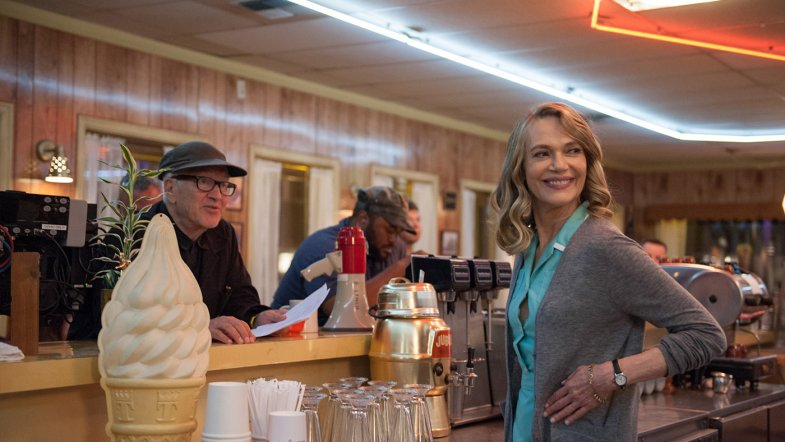 Twin Peaks 2017: Behind The Scenes at the RR Diner with Peggy Lipton and David Lynch