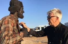 Twin Peaks Blu-ray/DVD: Behind the Scenes Footage Robert Broski (Woodsman) and David Lynch