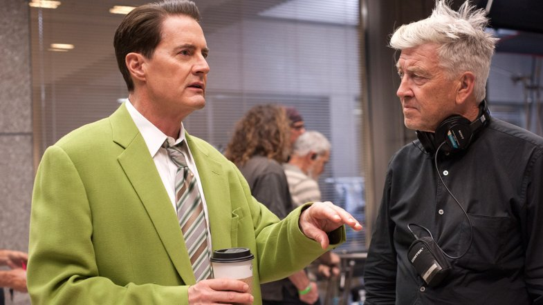 Twin Peaks 2017: Behind The Scenes: Kyle MacLachlan and David Lynch