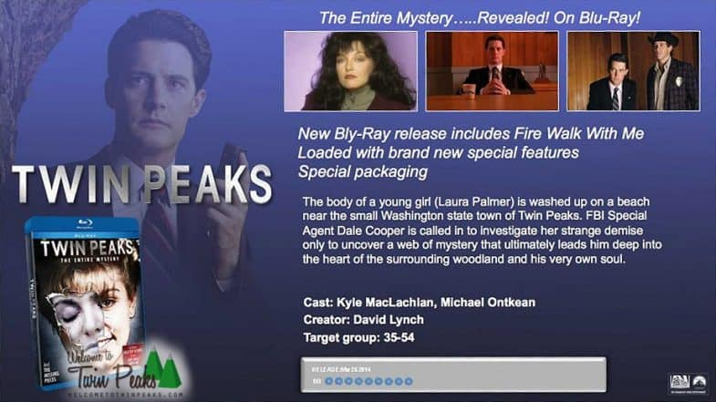 Twin Peaks Blu-ray: The Entire Mystery 2014