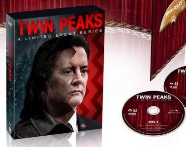 Twin Peaks 2017 Blu-ray & DVD (Digipak)
