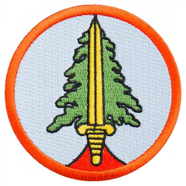 Twin Peaks Bookhouse Boys patch