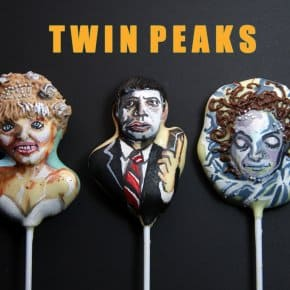 David Lynch Cake Pops