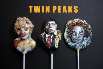 Twin Peaks cake pops