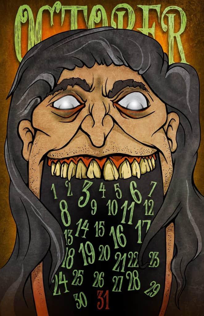 Twin Peaks calendar: Killer BOB