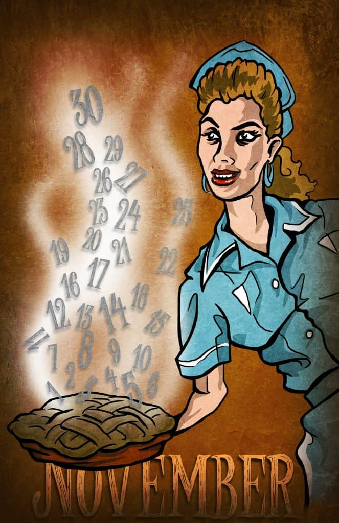 Twin Peaks calendar: Shelly Johnson