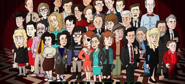 Twin Peaks Cast As Cartoon Characters
