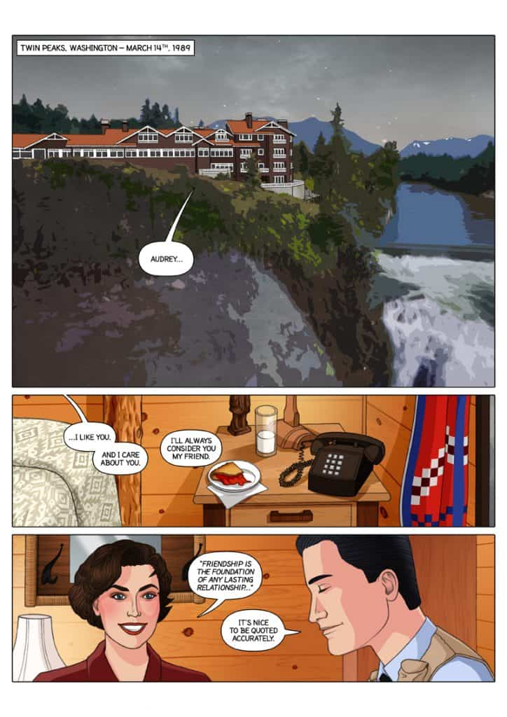 Checkmate, a Twin Peaks webcomic