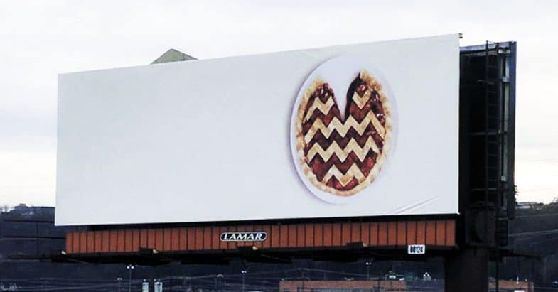 Twin Peaks Cherry Pie Billboard Poster