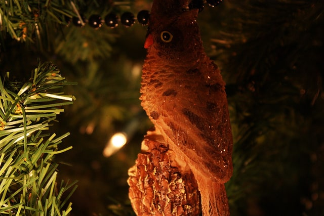 Twin Peaks Christmas: Owl ornament