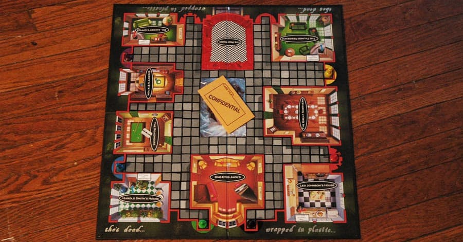 This Twin Peaks Version Of Clue Is A Board Game I D Love