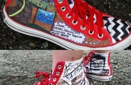Twin Peaks Custom Converse All Stars shoes