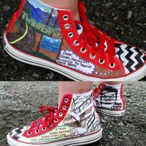 Custom Twin Peaks Converse All Stars