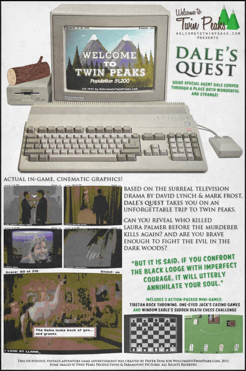 Dale's Quest, a Twin Peaks adventure game