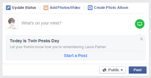 Twin Peaks Day on Facebook